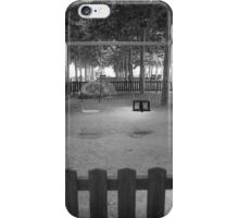 Park under Tree Lined Canopy iPhone Case/Skin