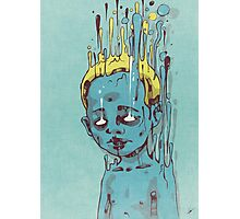 The Blue Boy with the Golden Hair Photographic Print