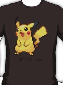 Pokedex: Pikachu (#025) T-Shirt