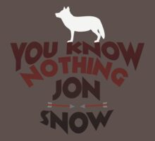You Know Nothing Jon Snow by believeluna