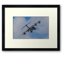 A400M Atlas military transport aircraft Framed Print