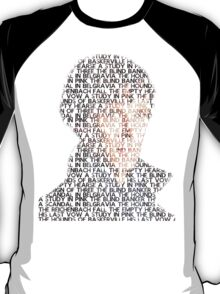 Sherlock From Words T-Shirt
