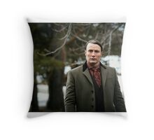 Dr. Hannibal Lecter Throw Pillow