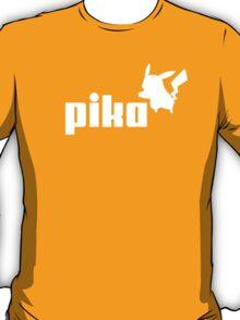 Pika pikachu puma logo parody T-Shirt