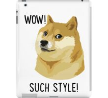 WOW! SUCH STYLE! Doge Meme T Shirts and More iPad Case/Skin