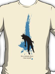 """""""For a minute there, I lost myself"""" - Radiohead - dark T-Shirt"""