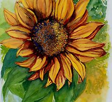 Sunflower by Tricia Winwood
