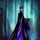 Maleficent (Sleeping Beauty Evil Queen) by Annya Kai