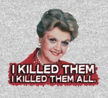 Angela Lansbury or Jessica Fletcher (murder she wrote) I killed them all by howardhbaugh