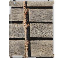 wooden walkway iPad Case/Skin