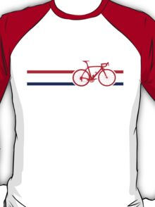 Bike Stripes British National Road Race v2 T-Shirt