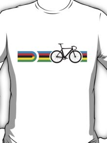 Bike Stripes World Track Champion T-Shirt
