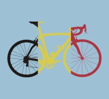 Bike Flag Belgium (Big) by sher00
