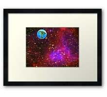 Are We Alone...............?? Framed Print