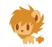 Chibi Lion by Kimmorz