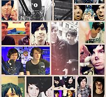 Dan and Phil Collage by xkittyxkawaiix