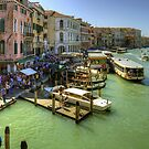 Crowded Venice by Tom Gomez