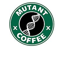 MUTANT COFFEE Photographic Print