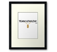 Team LewLew 1 Framed Print