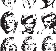 Marilyn's Funny Faces by TBDesigns