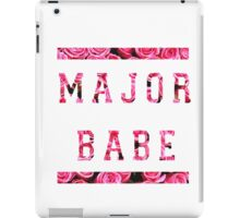Major Babe iPad Case/Skin