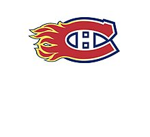 Montreal Flames - Calgary Canadiens Photographic Print