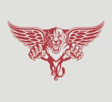 Detroit Red Wings - Florida Panthers Logomash by Phneepers