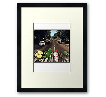 Final Fantasy Abbey Road Framed Print