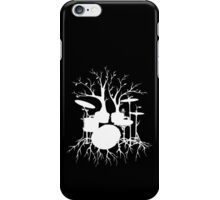 """Live the Beat to the Tempo of Creation"" ~ drum art , version1 iPhone Case/Skin"