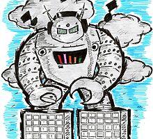Robotech & Deck by Eddie Brome
