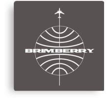 Brimberry Jet Age Canvas Print