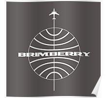 Brimberry Jet Age Poster
