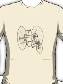 A Fancy Ride in Beige T-Shirt