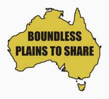 Boundless Plains to Share by posty