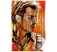 Captain Nathan Malcolm Reynolds Fillion Painting Poster