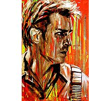 Captain Nathan Malcolm Reynolds Fillion Painting Photographic Print
