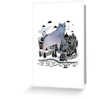 The Fog Greeting Card
