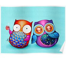 Night Owl Morning Owl Poster