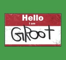 Hello- I am GROOT Kids Clothes