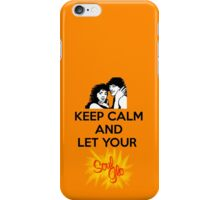 Keep Calm and Let Your Soul Glo! iPhone Case/Skin