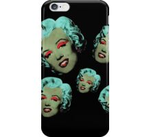 Vampire Marilyn 5b iPhone Case/Skin