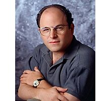 George Costanza Portrait Seinfeld Photographic Print