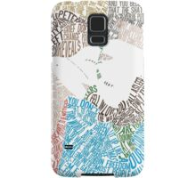 The Fault in Our Stars Movie Poster Typography Samsung Galaxy Case/Skin