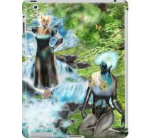 Spirits of the Water {Digital Fantasy Figure Illustration} iPad Case/Skin