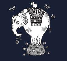 White Elephant T-Shirt Kids Clothes