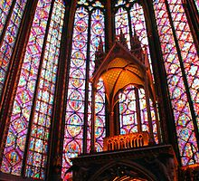 Awesome Saint Chapelle by Michael Matthews