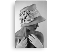 Affectedly Shy Canvas Print