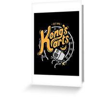 Kong's Karts Greeting Card