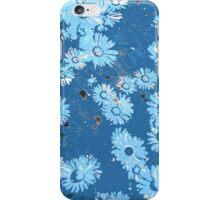 Daisies (blue) iPhone Case/Skin