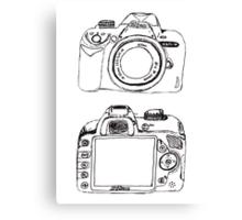 Nikon without White  Canvas Print